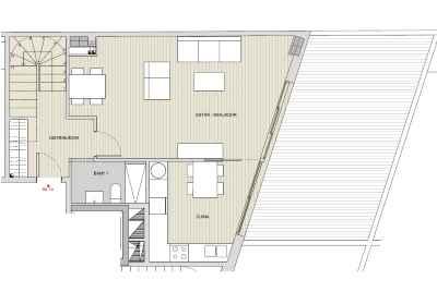 Дуплекс нижний этаж 1аSant Gervasi